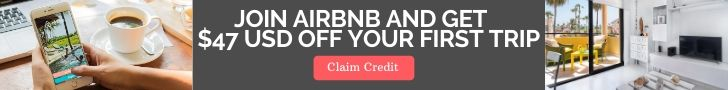 airbnb referral credit ad